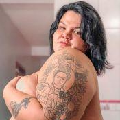 Thais Carla mostra corpo após nascimento da 2ª filha, Eva: 'Estamos felizes'
