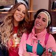 Mariah Carey faz homenagem à Anitta em aniversário da cantora