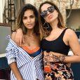 Anitta, em quarentena na Costa Verde do Rio de Janeiro, passa aniversário com amigos e o namorado, Gabriel David