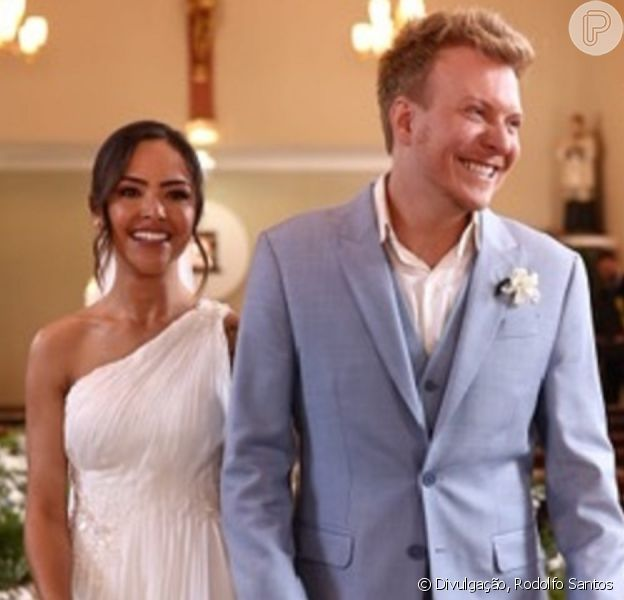 Casamento de Gabi Luthai e Téo Teló, irmão do Michel Teló, seria realizado nesta terça-feira, dia 31 de março de 2020