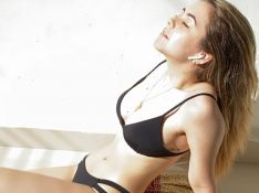 Klara Castanho improvisa para tomar sol na quarentena: 'Arrumando jeito'