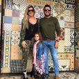 Casados há sete anos e juntos há oito, Ceará e Mirella Santos são pais de Valentina, de 5 anos