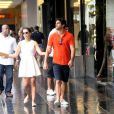 Mariana Rios passeia em shopping ao lado do namorado, o advogado Patrick Bulus, no Rio de Janeiro