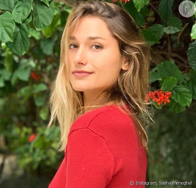 Sasha Meneghel viaja e namorado, João Figueiredo, lamenta de saudades