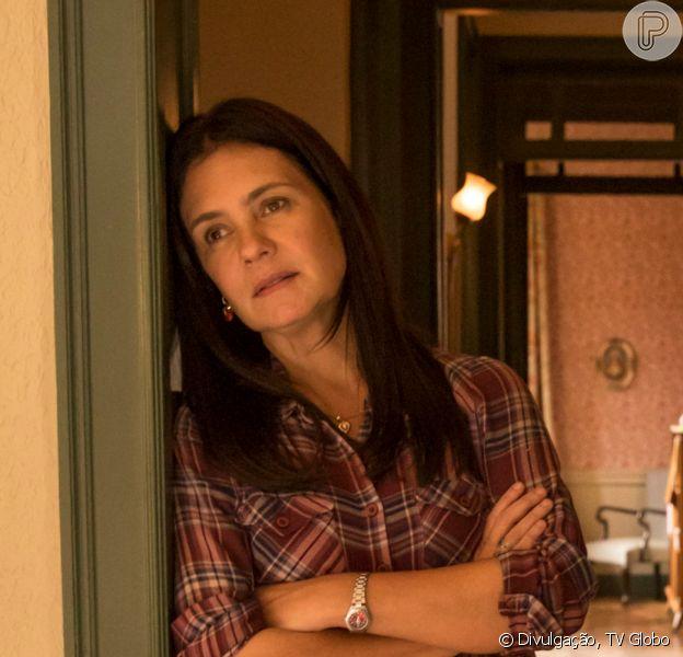 Adriana Esteves se pronunciou pela morte de Filipe Duarte, o Gabo da novela 'Amor de Mãe': 'Ótimo ator, gentil, afetuoso'