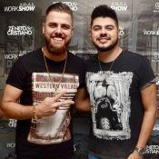 Cristiano raspa barba e cabelo de Zé Neto em live: 'O que meu filho vai falar?'