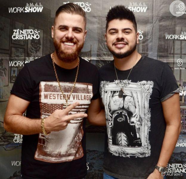 Zé Neto e Cristiano comandaram mais uma live neste sábado, 16 de maio de 2020