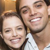 Rodrigo Simas combina pijama com Agatha Moreira e ganha elogio dela: 'Meu par'