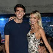 Carol Dias mostra evolução de gravidez e Kaká elogia: 'Barriguda mais linda'