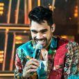 Gusttavo Lima homenageou Gabriel Diniz durante live com a música 'Paraquedas'
