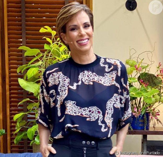Ana Furtado se emocionou com matéria sobre câncer no 'É de Casa' neste sábado, 6 de junho de 2020