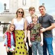 Filhos de Luciano Huck e Angélica, Joaquim e Eva não aprovaram 100% o corte de cabelo que a mãe fez no pai: 'Desnivelado'