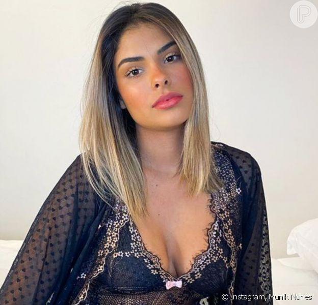 Munik Nunes nega anorexia ao exibir corpo mais magro em novas fotos no Instagram