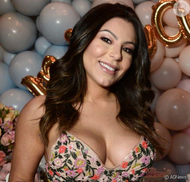 Mulher de Thammy Miranda, Andressa Ferreira comemora mudança no corpo