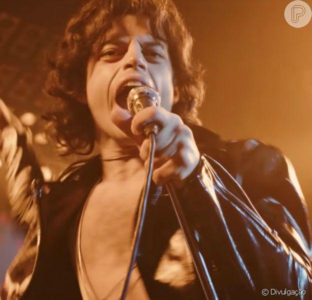 """A moda rocker e retrô dos anos 70 está bem representada no filme """"Bohemian Rhapsody"""", que conta a história de Freddie Mercury"""