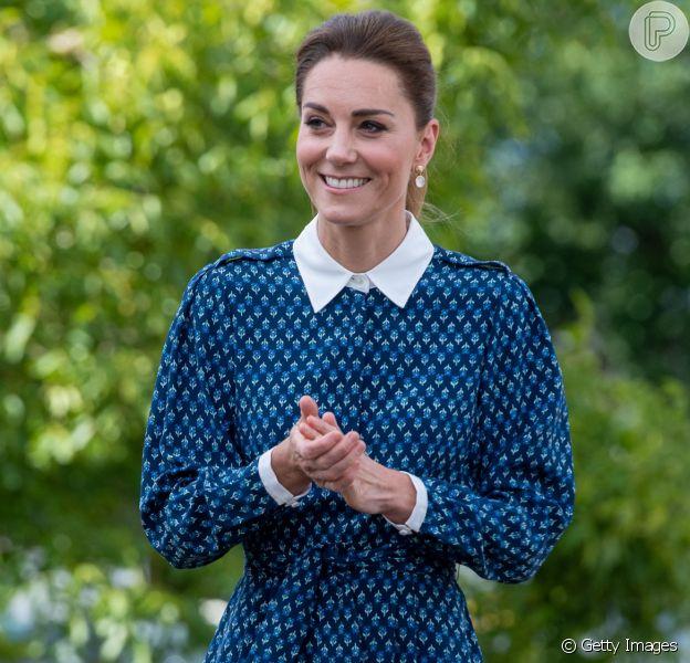 Kate Middleton e a moda sustentável: duquesa usa marcas engajadas e aponta trend. Confira mais detalhes em matéria nesta sexta-feira, dia 13 de julho de 2020