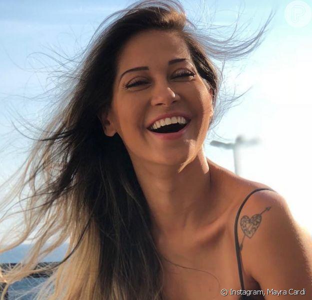 Mayra Cardi lamenta término com Arthur Aguiar: 'Nunca me amou'
