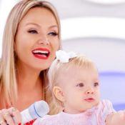 Eliana filma a filha, Manuela, fantasiada: 'Misto de unicórnio e Cinderela'