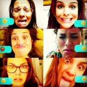 Paloma Bernardi faz caras e bocas com as amigas: 'Elas me acolheram'