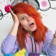 Larissa Manoela tingiu cabelo de vermelho em casa na quarentena