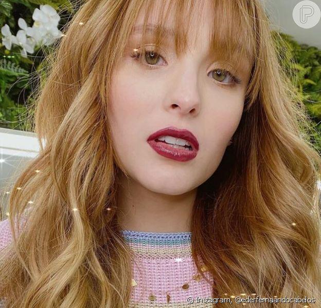 Cabelo novo! Larissa Manoela adota visual ultralongo com mega hair: 'Rapunzel'