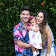 Mayra Cardi se mudou para São Paulo com a filha, Sophia, de um ano