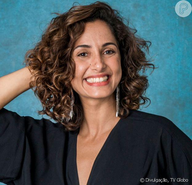 Camila Pitanga atesta positivo para a Malária