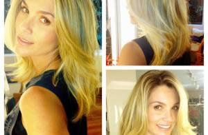 Flávia Alessandra corta o cabelo para Érica, de 'Salve Jorge': 'Cabelo deuso'