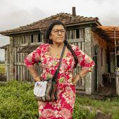 Regina Casé volta a gravar 'Amor de Mãe' e mostra curiosidade em bastidor. Foto!
