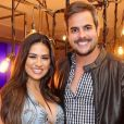 Grávida pela seguda vez, Simone emocionou o marido, Kaká Diniz, com homenagem em aniversário do empresário, nesta sexta-feira, 28 de agosto de 2020
