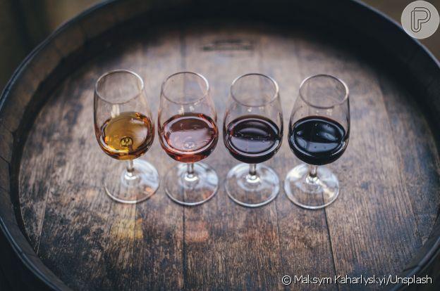 Diferentes qualidades de vinho são produzidas em todo o mundo