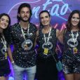 Nesta quarentena, Túlio Gadêlha, namorado de Fátima Bernardes, também morou na casa da apresentadora