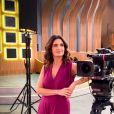 Fátima Bernardes já voltou a comandar o 'Encontro' dos estúdios da TV Globo