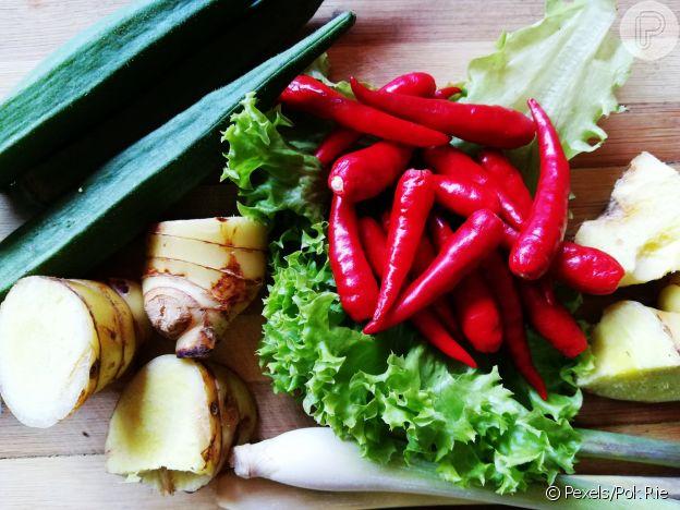 Pimenta, gengibre e canela são importantes alimentos termogênicos
