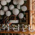 Casamento de André Coelho e Anna Clara, do 'De Férias com Ex', tem decoração rústica