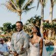 André Coelho e Anna Clara, do 'De Férias com Ex', se casam em cerimônia íntima