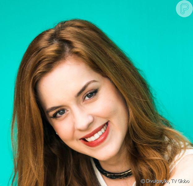 Na novela 'Salve-se Quem Puder', Sophia Abrahão será Julia e terá um romance com Rafael (Bruno Ferrari)