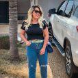 Web nota mudança em corpo de Natália Toscano, mulher de Zé Neto