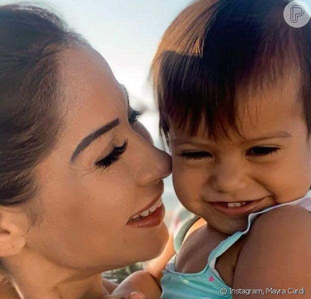 Mayra Cardi relata doença da filha e destaca preocupação