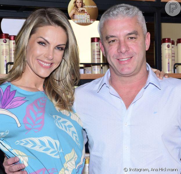 Marido de Ana Hickmann, Alexandre Correa descobre câncer e inicia tratamento contra doença