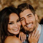 Carol Nakamura divulga fotos do casamento com Guilherme Leonel: 'Completamente feliz'
