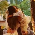 Filho de Carol Nakamura e Guilherme Leonel se emocionou no casamento dos pais
