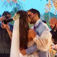 Carol Nakamura teve casamento com Guilherme Leonel em 12 de novembro de 2020