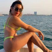 De costas e de biquíni, Naiara Azevedo impressiona com corpão. Veja fotos!