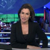 Renata Vasconcellos não terá lua de mel após casamento: 'Apresentará o JN'