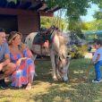 Ticiane Pinheiro e Cesar Tralli são pais de Manuella, nascida em julho de 2019