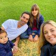 Filha de Ticiane Pinheiro e Roberto Justus, Rafaella Justus tem ótima relação com o padrasto, Cesar Tralli