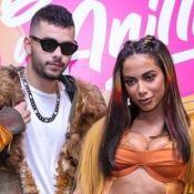 DJ tatua 'Larissa' na coxa, Anitta se declara e afasta marketing: 'Não tem música vindo aí'
