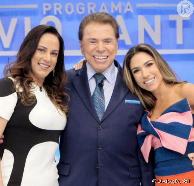 Silvio Santos está completando 90 anos e ganhou homenagem da filha Silvia Abravanel: 'E eu (minha mãe, irmãs) e o Brasil inteiro agradecemos por isso por termos você aqui conosco!'