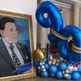 Filha de Rebeca Abravanel compartilhou bastidor de uma possível festa para os 90 anos do pai